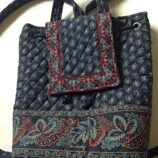 Vera Bradley Discontinued Patterns Inspiration Find More Vera Bradley Mimi Backpack In The Retired Classic Navy