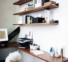 home office wall shelving. 75 Small Home Office Ideas For Men Masculine Interior Designs Attractive Wall Shelves Within 19 Shelving