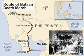 「the Bataan Death March,」の画像検索結果