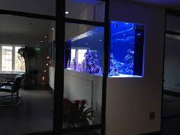 office aquarium. Office In Wall Reef Aquarium U