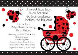 Color  Free Babyshower Printable Invitations LadybugsFree Printable Ladybug Baby Shower Invitations