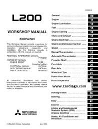 mitsubishi l200 electrical wiring diagram wiring diagrams mitsubishi l200 wiring diagrams electrical