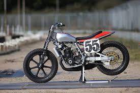 honda flat track racer bike exif