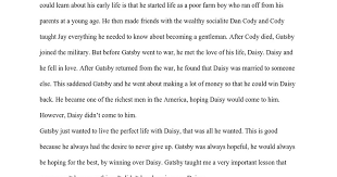 gatsby eulogy from nick carraway google docs