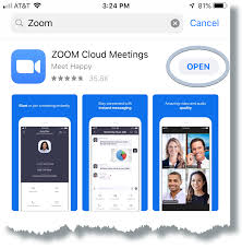 Click download under zoom client for meetings. Installing Zoom Ios University Information Services Georgetown University
