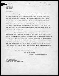 letter from alexander graham bell to helen keller  letter from alexander graham bell to helen keller 18 1918 library of congress