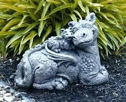 dragon garden statue statues resin uk ornaments