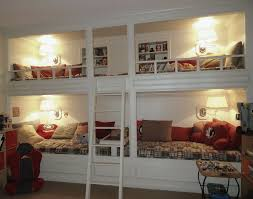 Bunk Beds Built Into Wall Plans Home Design Ideas In Addition To Beautiful Bunk  Beds Built