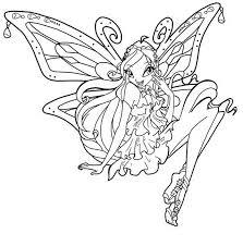 Disegni Da Colorare Winx Enchantix Archives Disegni Da Colorare