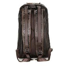 Nesitu Large Capacity Black Chocolate Soft <b>Genuine Leather</b> ...