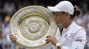 Wimbledon-Siegerin Ashleigh Barty: Eine Schale für einen Kontinent - Sport  - SZ.de