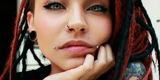 All Face Piercings Chart Piercing Charts To Help Save You From Painful Regrets