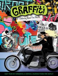 Amazon Com Graffiti Coloring Book For Adults 9780997571431