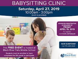 Free Online Babysitting Certification Registration Now Open For The 2019 Babysitting Clinic