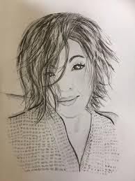 Tabitha Drawing by Cathy Johnson