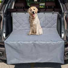 kinbor cargo liner cover for suvs and cars scratch proof nonslip backing washable dog