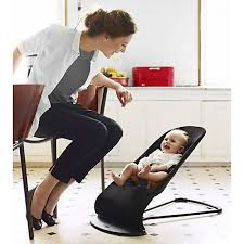 baby bjorn bouncer balance mesh black grey with free next day delivery was 169