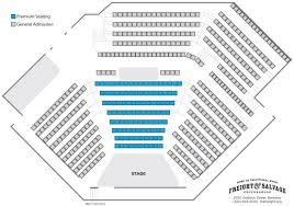 Sfjazz Seating Chart Premium Seating Chart Freight Salvage