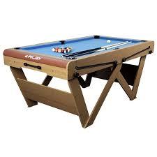 riley 6ft w leg folding snooker pool table fspw6