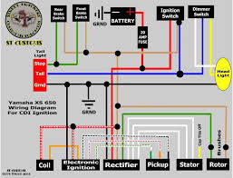pamco wiring diagram my wiring th yamaha xs650 forum