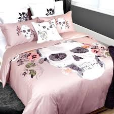 Oversten Classic Style Double Single Bedding Set Twin Queen King ... & By Dia De Los Muertos A Festive Celebration Of Life Sugar Skulls Ornate  Tattoo Arts A Quilts Etc Duvet Covers Canada Duvet Quilt Covers Quilts ... Adamdwight.com