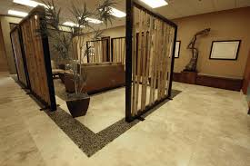 office interior decoration pictures. Architecture, Ceramic Flooring Screen Wall Houseplant On Planter Zen Office Interior Design Room Decoration Pictures