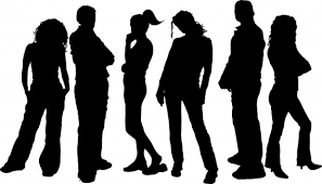 Image result for young professionals silhouette