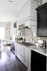 Kitchens Decorated For Christmas Holiday Home Showcase Decor Gold Designs