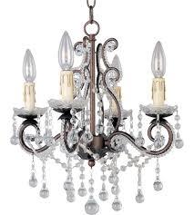 maxim 20054oi katherine 4 light 15 inch oil rubbed bronze mini chandelier ceiling light