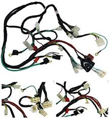 amazon com 6z chinese gy6 150cc wire harness wiring assembly scootsusa premium gy6 scooter wire harness