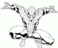 Spiderman Coloring Page - FREE Download Printable Coloring Pages ...