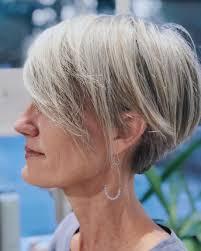 60 Gorgeous Gray Hair Styles In 2019 Kapsels Korte Grijze