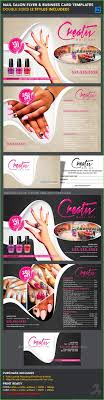 20 Nail Salon Brochure Design