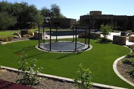artificial turf yard. Premium Synthetic Turf Artificial Grass Lawn On Playground Yard