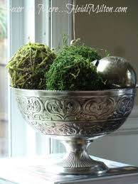 Decorating With Moss Balls
