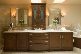 Traditional Bathroom Sinks Bathroom Contemporary Double Bathroom Vanities With Wall Cabinet