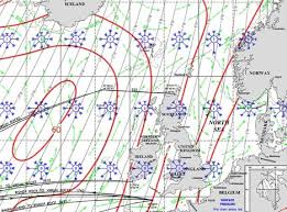 Weather Predictions At Sea From The Norwegian Sailing