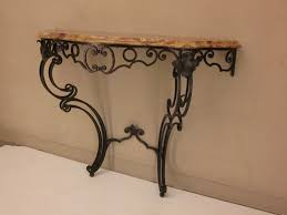 iron console table. Image Of: DIY Wrought Iron Console Table