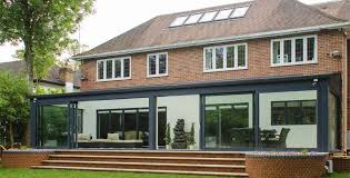 air bifolding and sliding doors in london home