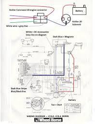 kohler command 18 wiring diagram wiring diagram for you • kohler command 18 wiring diagram images gallery
