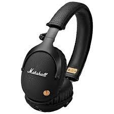<b>Marshall Monitor</b> Over-Ear <b>Bluetooth</b> Headphones - Black   Best Buy ...