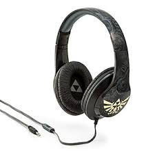 speakers headphones. zelda hylian crest over-ear headphones speakers o