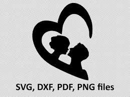 Shirt Design Png Couple Heart Svg Pdf Dxf Png T Shirt Design Cute Cut Etsy