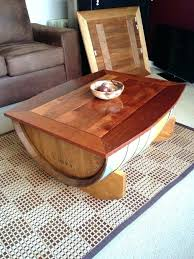 diy wine barrel coffee table whiskey barrel table wine coffee build diy wine barrel coffee table