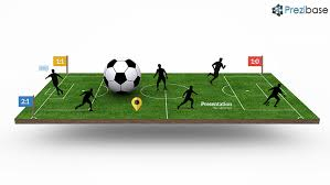 soccer field templates football pitch prezi template prezibase