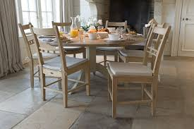 150cm chichester round pedestal dining table by neptune