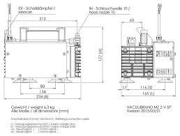 vacuubrand vario sp diaphragm pump mz 2 vario sp john morris vacuubrand vario sp diaphragm pump mz 2 vario sp dimension sheet