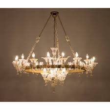 italian mid century chandelier circa from 1950s