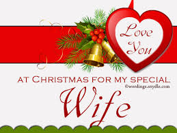 merry christmas special message for my wife