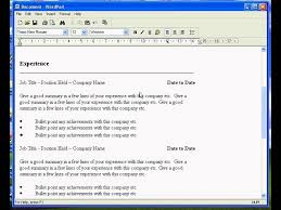 Create A Resume In Word Free Resume Example And Writing Download